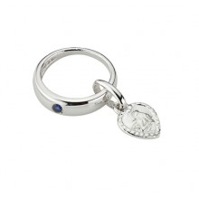 Taufanhänger Taufring aus 925/- Sterling-Silber 5-124722-001