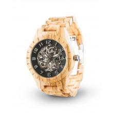 Laimer Woodwatch Rick Automatik Holzuhr LM0062
