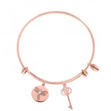 Coco88 Damen Armreif Sense Collection 8CB-10009 Schlüssel+Libelle