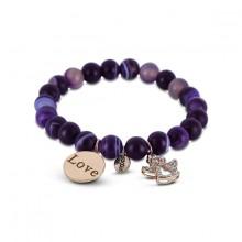 Coco88 Damen Armband Divine Collection 8CB-30007 Engel + Love
