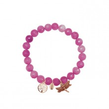 Coco88 Damen Armband Serenity Collection 8CB-90005 Lebenbaum Libelle