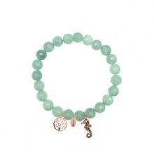 Coco88 Damen Armband Serenity Collection 8CB-90006 Lebenbaum Seepferdchen
