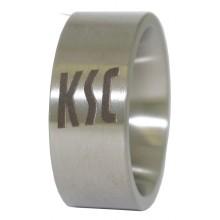 Karlsruher SC Edelstahl Ring Gr. 66 9-10107-66 69400123