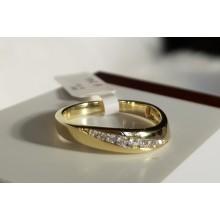 Goldener Damenring 910162R-56