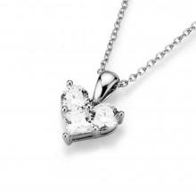Giorgio Martello Damen Herz Kette aus 925/- Silber 910279450
