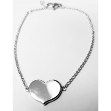 Damen Armband Herz aus Silber 92000693190
