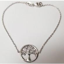 Damen Armband Lebensbaum aus Silber 92005493190