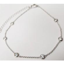 Damen Fußkette Silber 92006693280