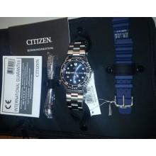 Citizen Promaster Automatik Taucheruhr Herrenuhr Set NY0040-17LEM