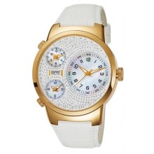 Esprit Collection Damenuhr Polydora Daylight Gold EL101292F06
