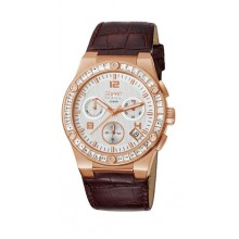 Esprit Collection Damenuhr pherousa Rose Brown EL101822F07
