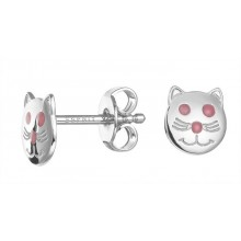 Esprit Girls Ohrstecker Little Cat ESER92542A