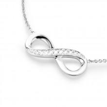 Damen Collier unendlich 925/- Silber 99011493450