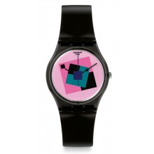 Swatch Crazy Square Uhr GA109