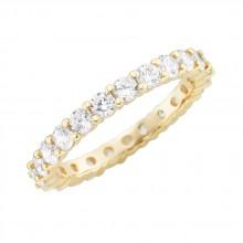 Damenring aus 375/- Gold Ring mit Zirkonia 93011340560