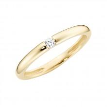 Damenring aus 375/- Gold Bandring 93011540560