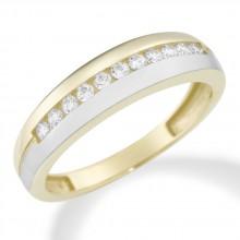 Damenring aus 375/- Gold Ring mit Zirkonia 93007240580