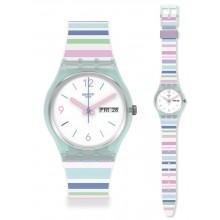 Swatch Pastel Zebra Uhr GL702