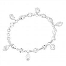 Giorgio Martello Damen Armband Glitzerarmband 925/- Silber 201389230