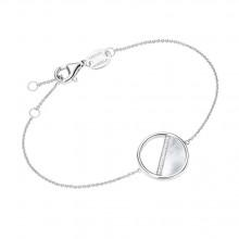 Giorgio Martello Damen Armband Coin Perlemutt 925/- Silber 205169190