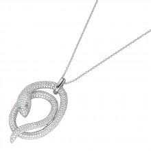 Giorgio Martello Damen Collier Schlange Silber 913239450