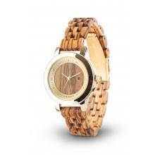 Laimer Woodwatch Jenni Sandelholz Holzuhr LM0066