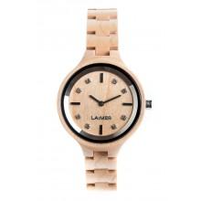 Laimer Woodwatch Ahorn Holzuhr LM0026
