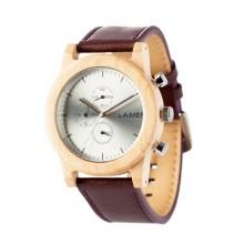 Laimer Uhr Peter Woodwatch Sandelholz Holzuhr Chronograph LM0058