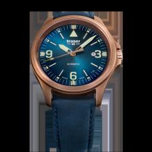Traser H3 P67 Officer Pro Automatic Bronze Blue Herrenuhr 108074