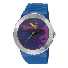 Puma Uhr Blast L Camo Blue PU103331006