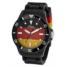s.Oliver WM Uhr Deutschland SO-2464-PQ