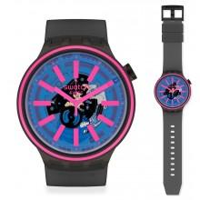 Swatch Big Bold Blue Taste Uhr SO27B111