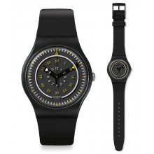 Swatch Più Nero Uhr SUOB157