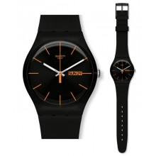 Swatch New Gent Dark Rebel SUOB704