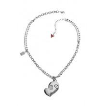 Guess Damen Halskette Herz UBN80917