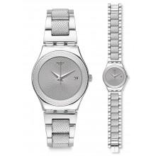 Swatch Classy Silver Uhr YLS466G