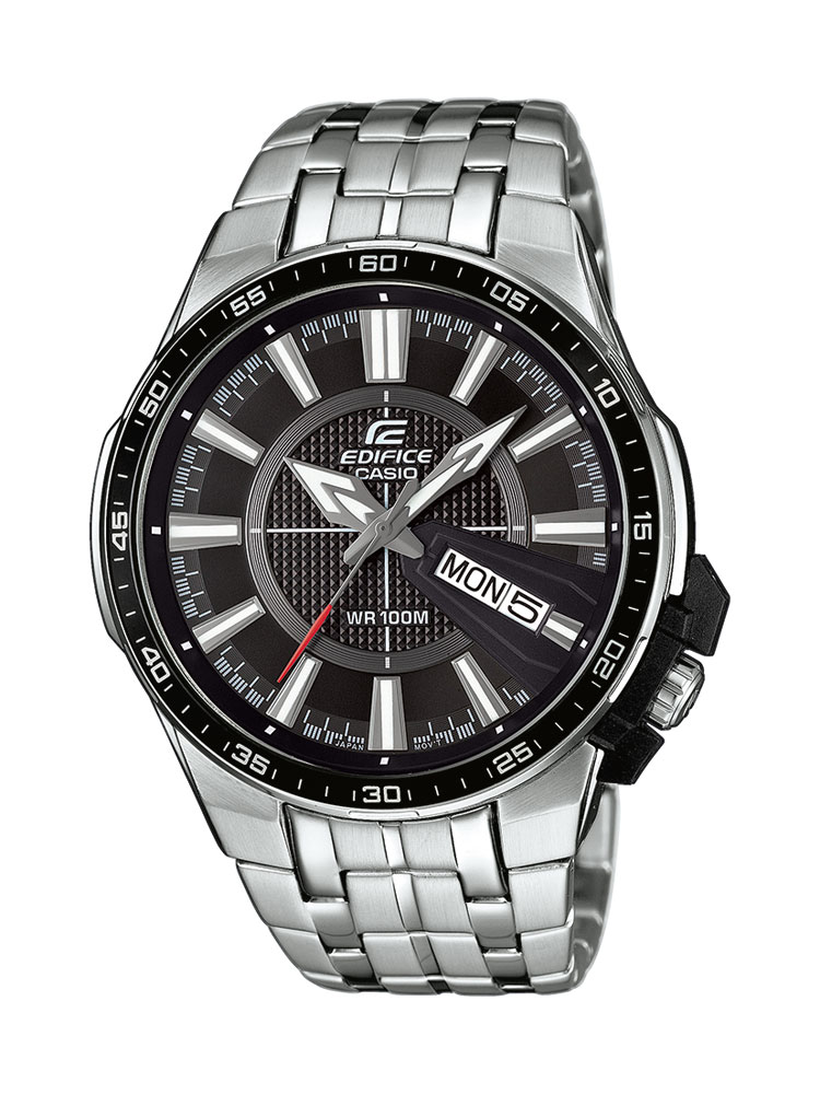 casio edifice uhr efr 106d 1avuef analog silber ebay. Black Bedroom Furniture Sets. Home Design Ideas