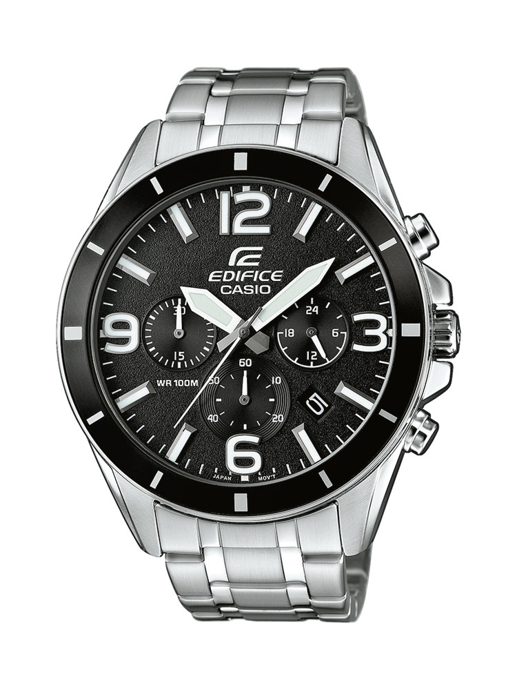casio edifice uhr efr 553d 1bvuef analog silber ebay. Black Bedroom Furniture Sets. Home Design Ideas