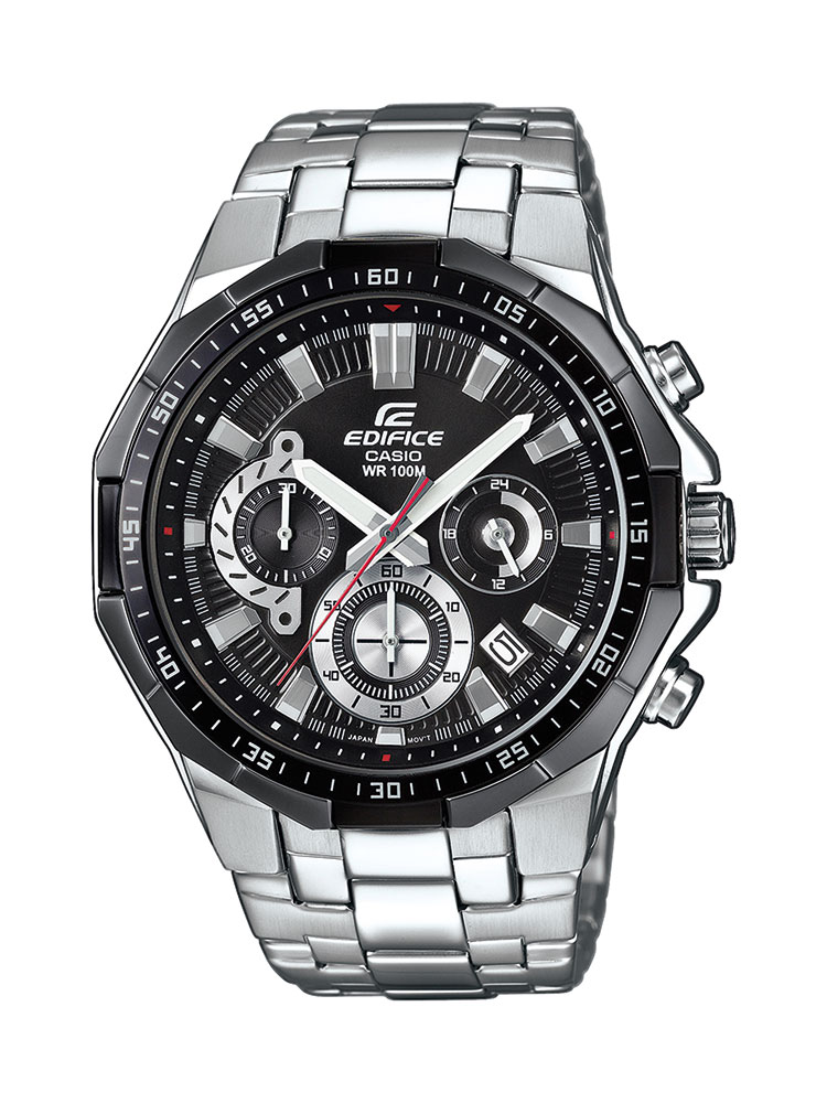 casio edifice uhr efr 554d 1avuef analog silber ebay. Black Bedroom Furniture Sets. Home Design Ideas