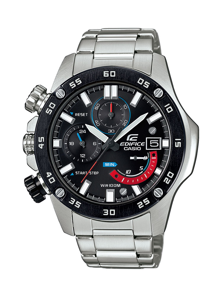 casio edifice uhr efr 558db 1avuef analog silber ebay. Black Bedroom Furniture Sets. Home Design Ideas