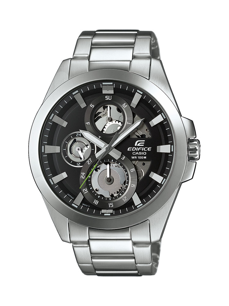 casio edifice uhr esk 300d 1avuef analog silber ebay. Black Bedroom Furniture Sets. Home Design Ideas