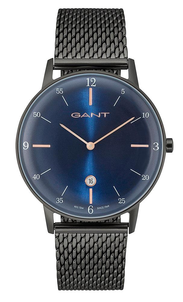 Gant Mens Watch Phoenix gt046010 Analog Stainless Steel Gun ...