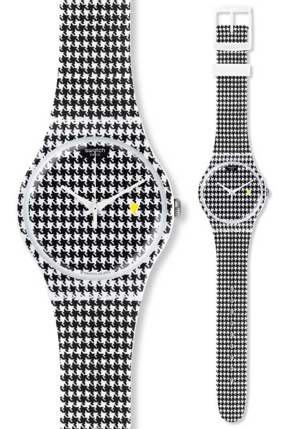 Swatch chicken run orologio suow138 analogico silicone - Fuga impermeabile ...